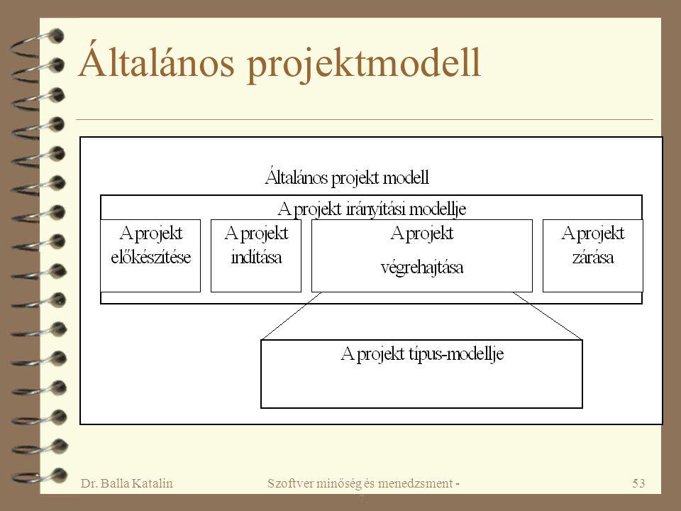Általános projektmodell