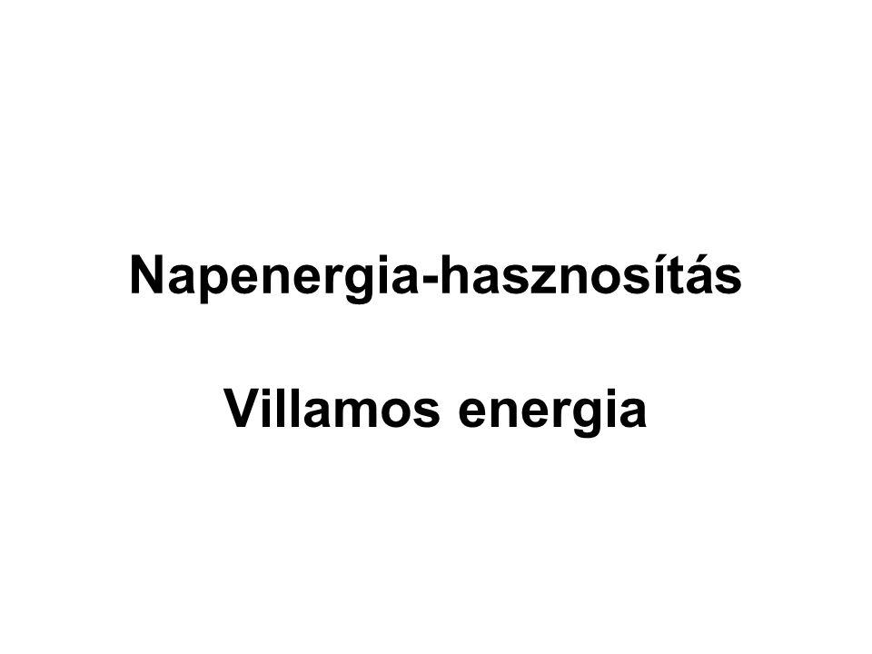 Napenergia-hasznosítás