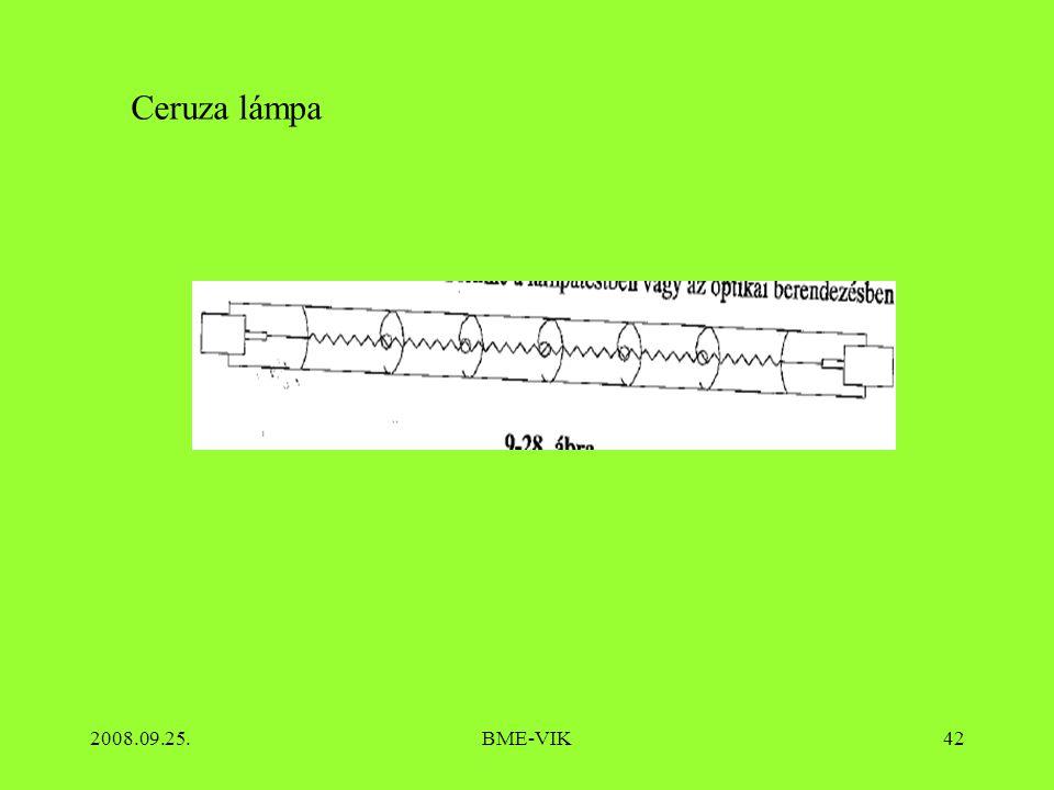 Ceruza lámpa 2008.09.25. BME-VIK
