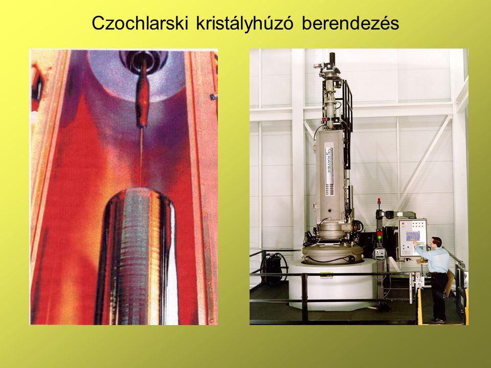 Czochlarski kristályhúzó berendezés