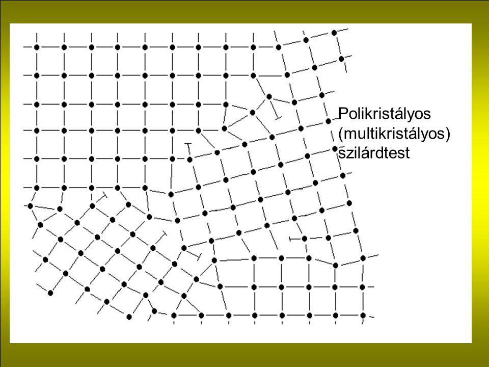 Polikristályos (multikristályos) szilárdtest