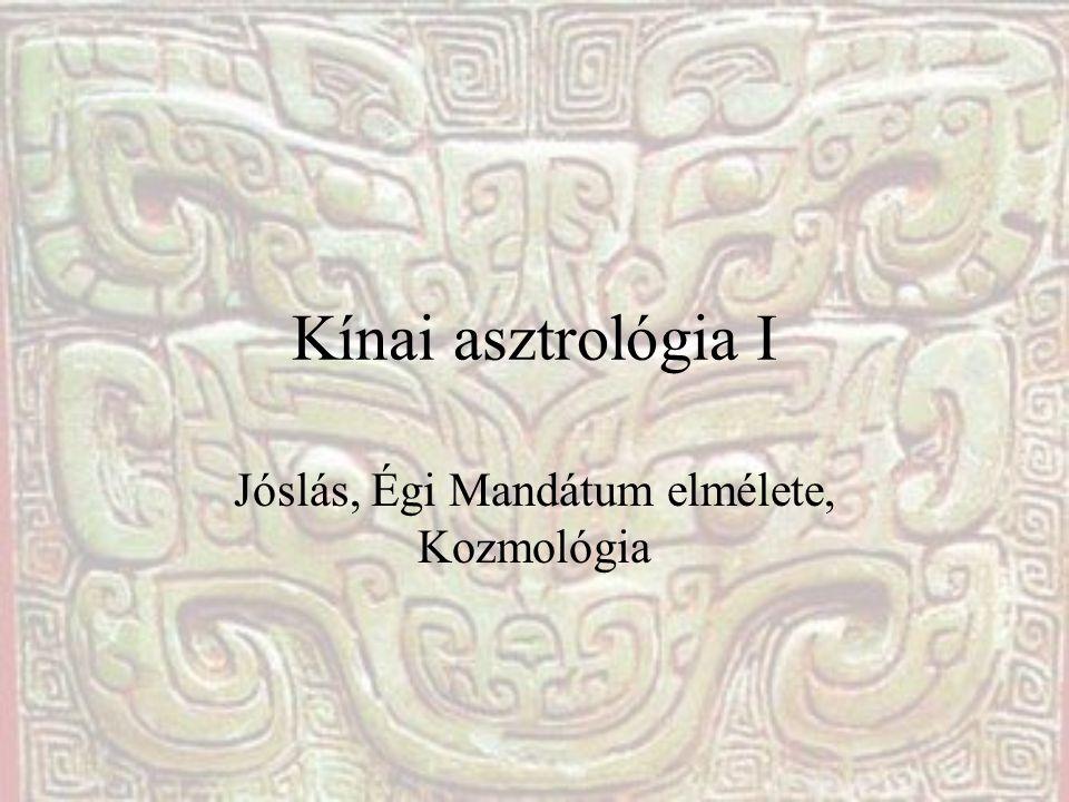 Jóslás, Égi Mandátum elmélete, Kozmológia