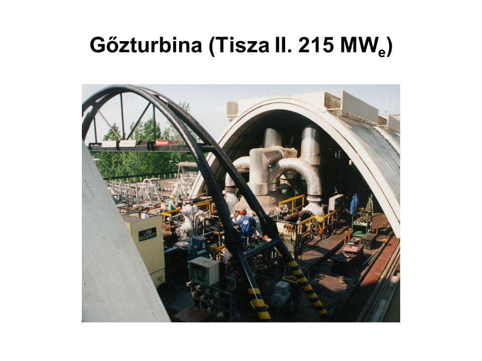 Gőzturbina (Tisza II. 215 MWe)