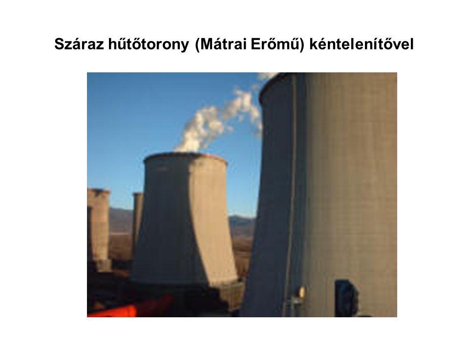 Száraz hűtőtorony (Mátrai Erőmű) kéntelenítővel