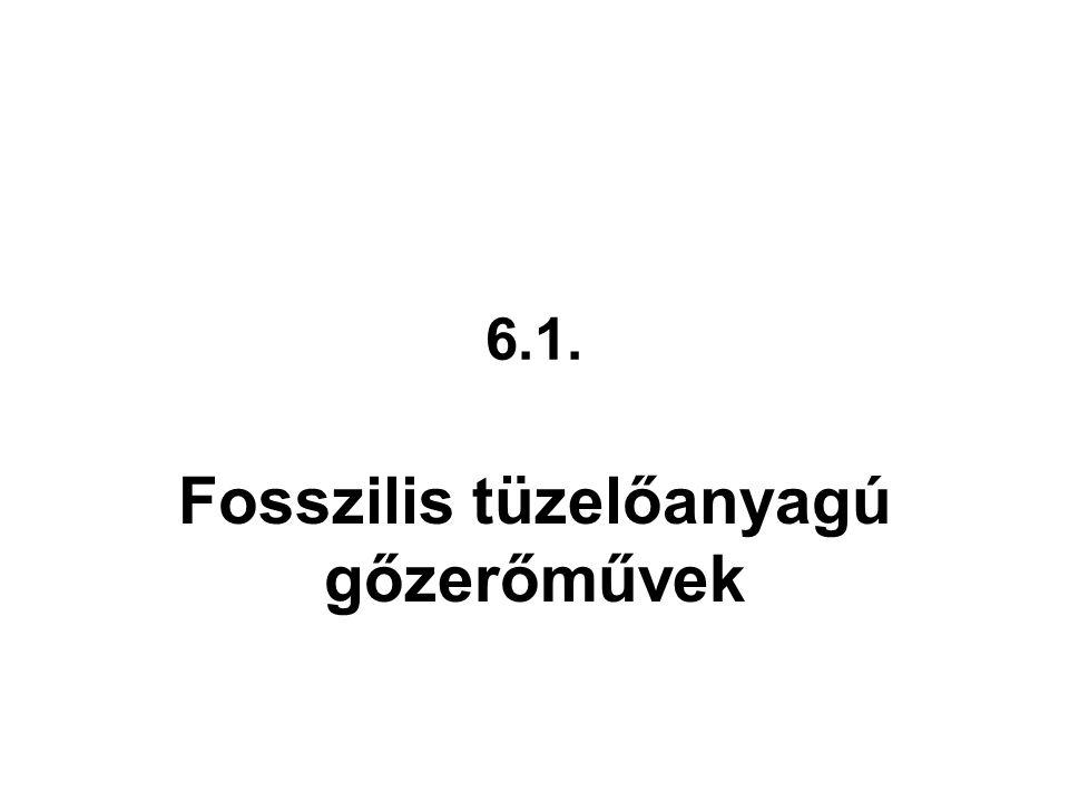 Fosszilis tüzelőanyagú gőzerőművek