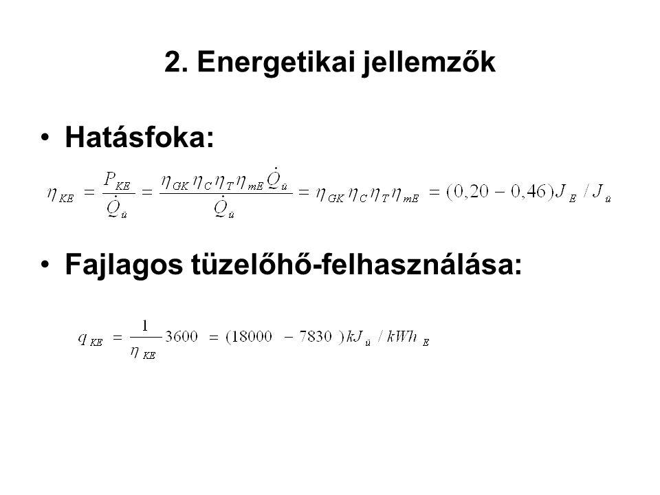 2. Energetikai jellemzők