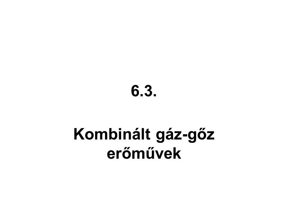 Kombinált gáz-gőz erőművek