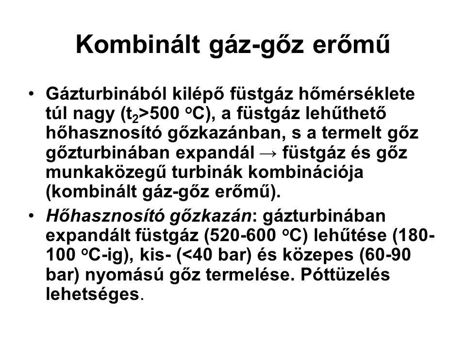 Kombinált gáz-gőz erőmű