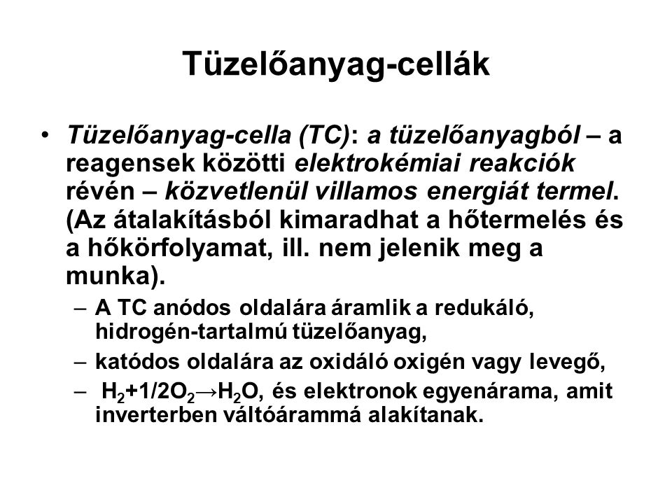 Tüzelőanyag-cellák