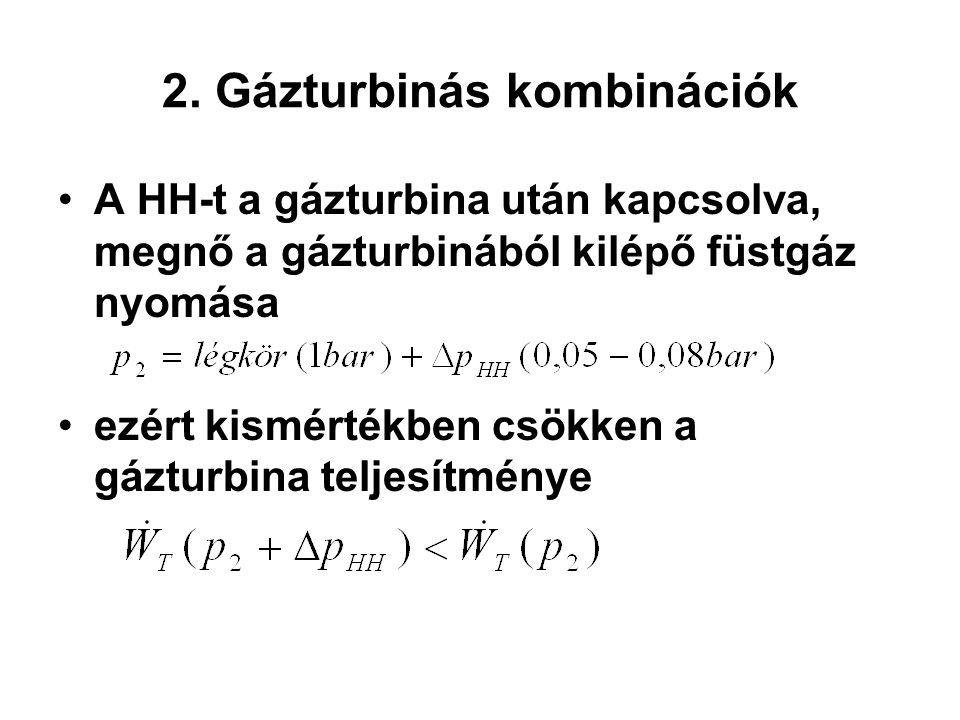 2. Gázturbinás kombinációk