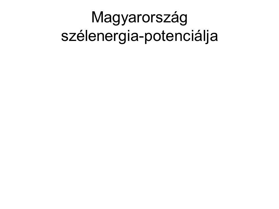 Magyarország szélenergia-potenciálja