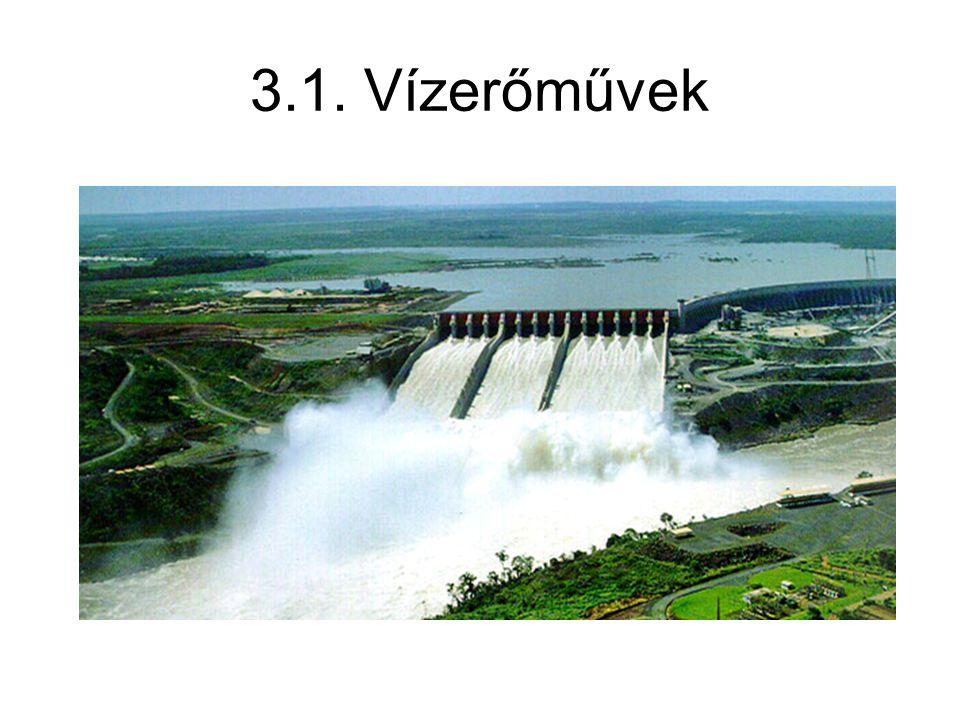 3.1. Vízerőművek