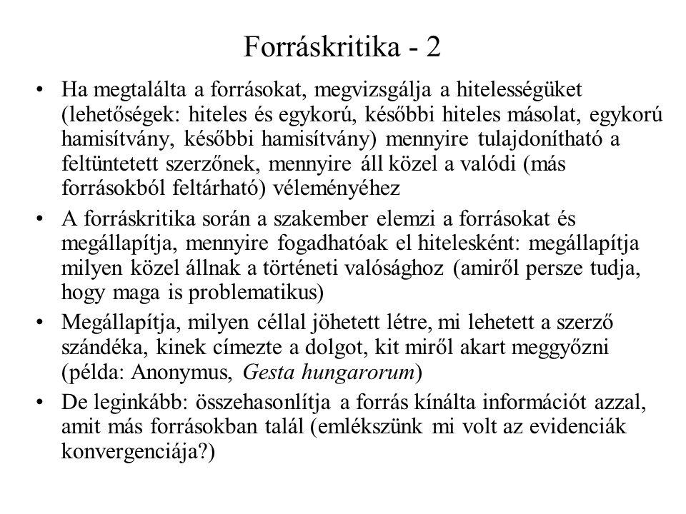 Forráskritika - 2