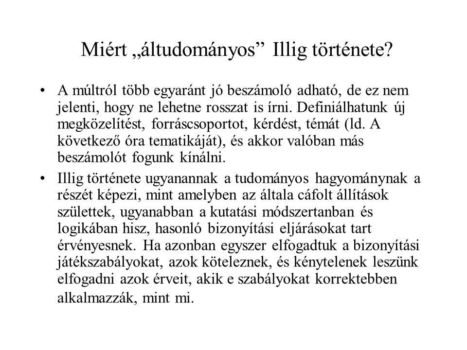 """Miért """"áltudományos Illig története"""