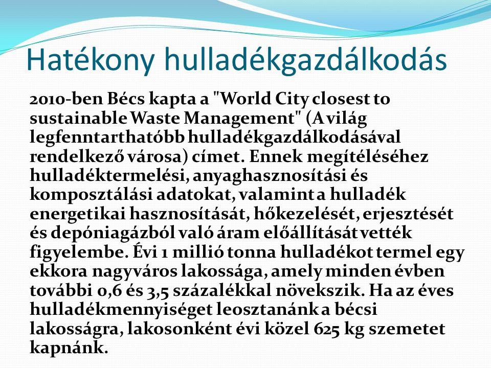 Hatékony hulladékgazdálkodás