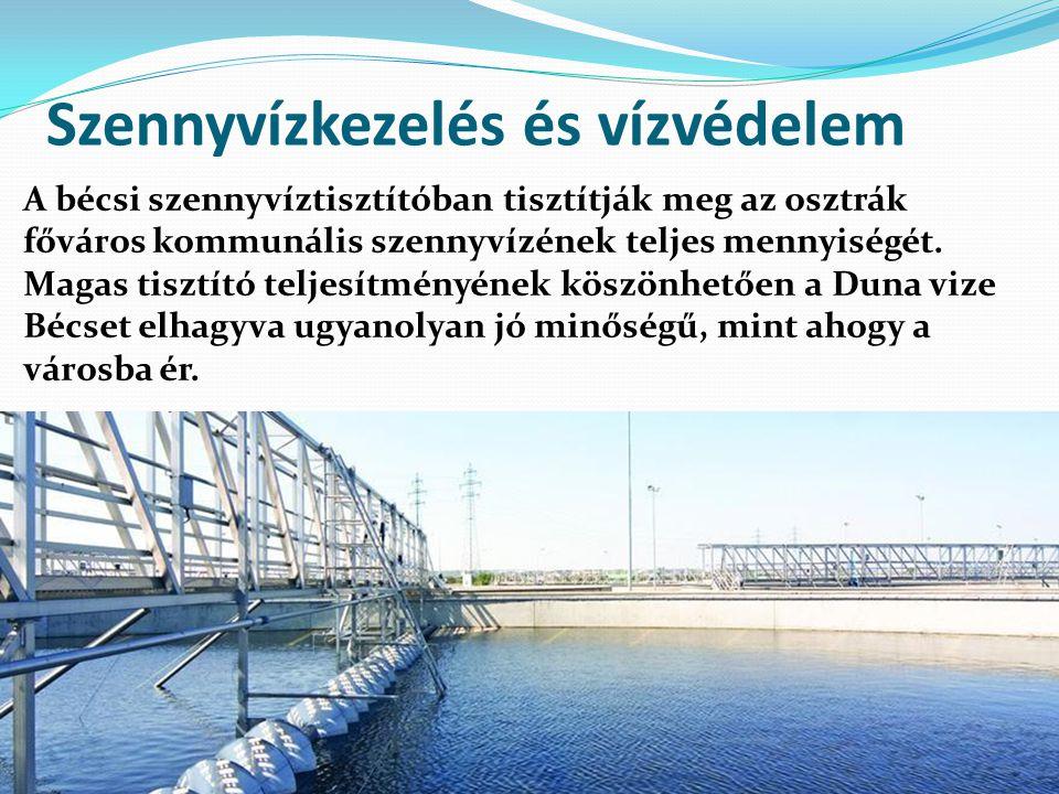 Szennyvízkezelés és vízvédelem