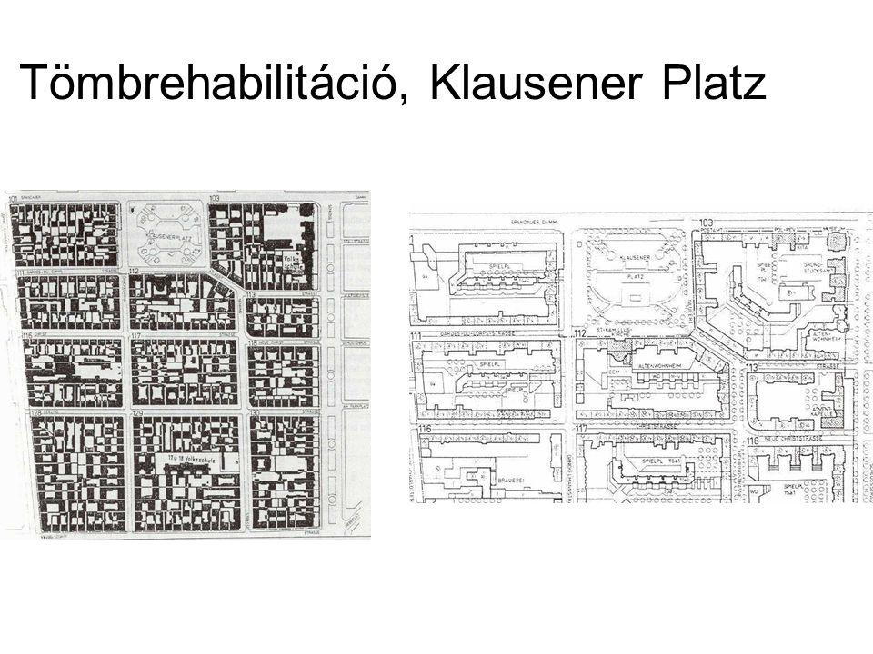 Tömbrehabilitáció, Klausener Platz