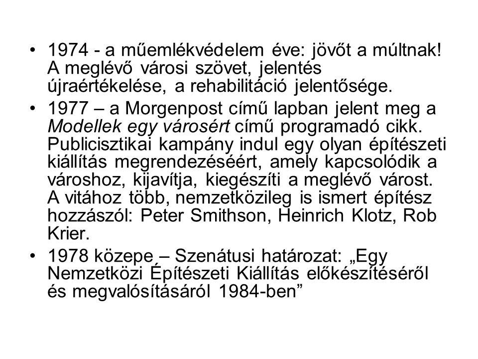 1974 - a műemlékvédelem éve: jövőt a múltnak