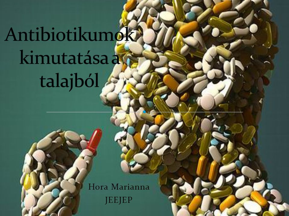 Antibiotikumok kimutatása a talajból