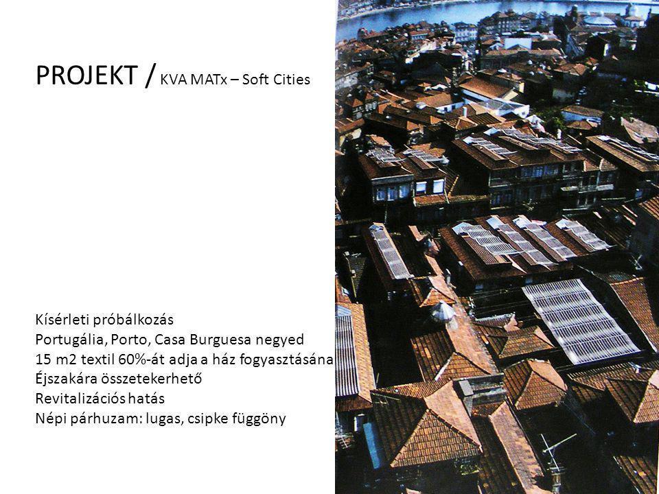 PROJEKT / KVA MATx – Soft Cities