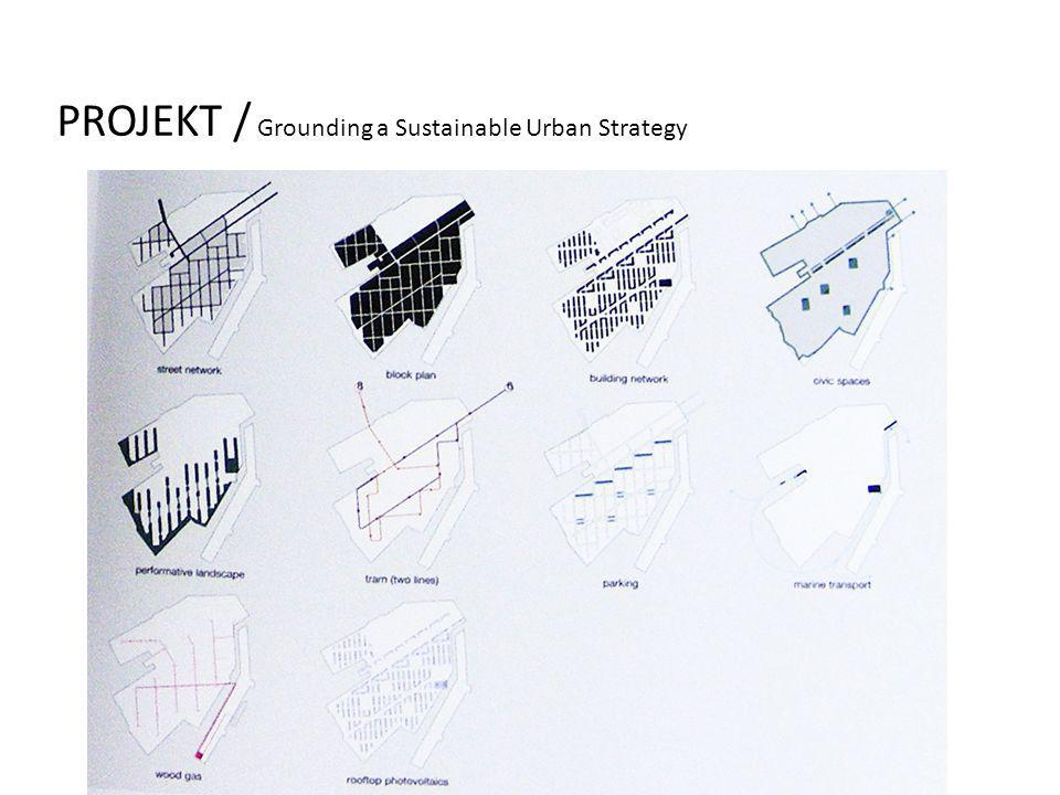 PROJEKT / Grounding a Sustainable Urban Strategy
