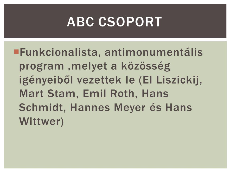 ABC csoport