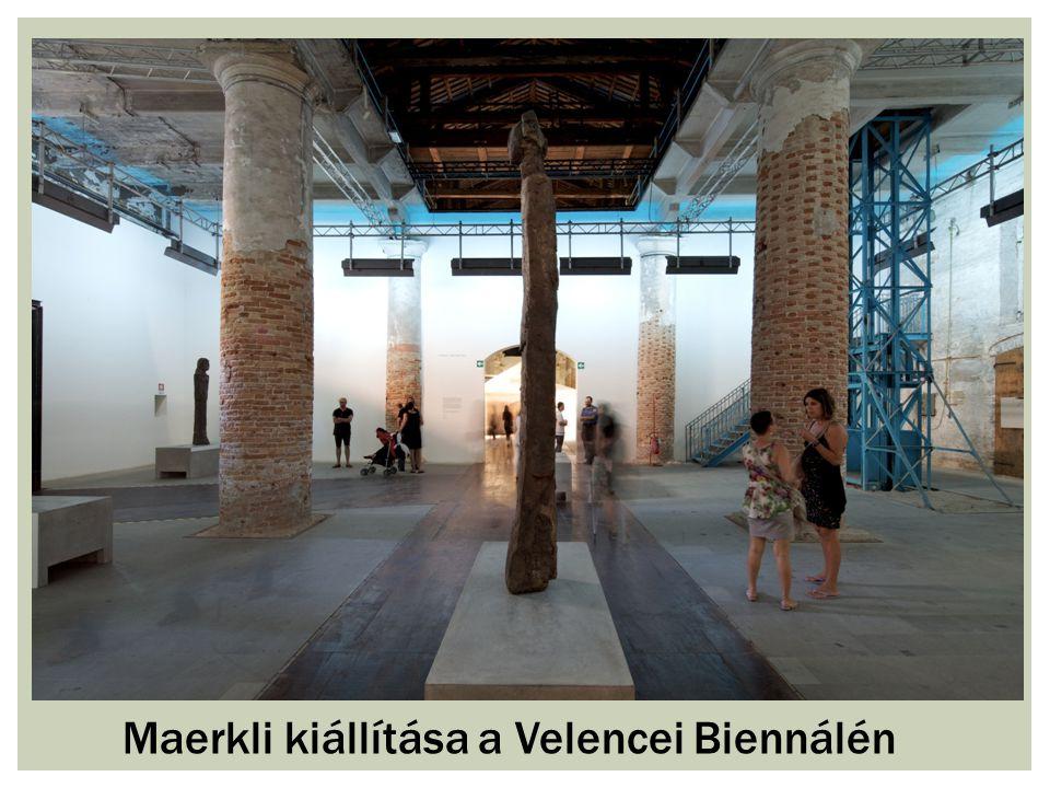 Maerkli kiállítása a Velencei Biennálén