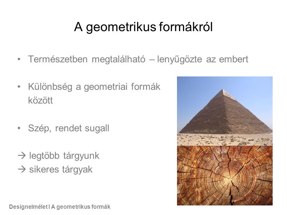 A geometrikus formákról