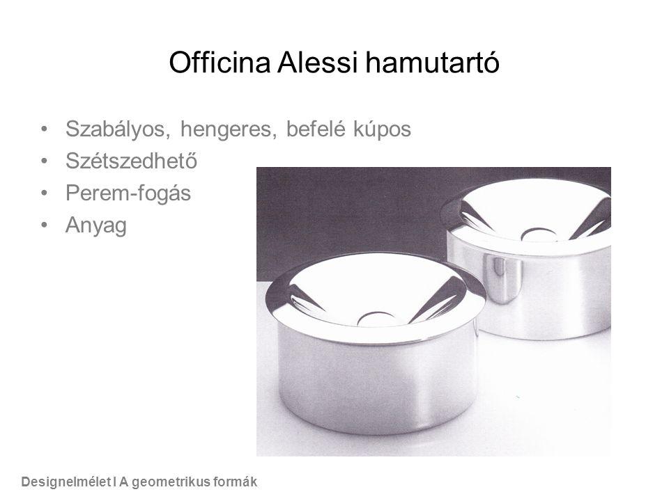 Officina Alessi hamutartó