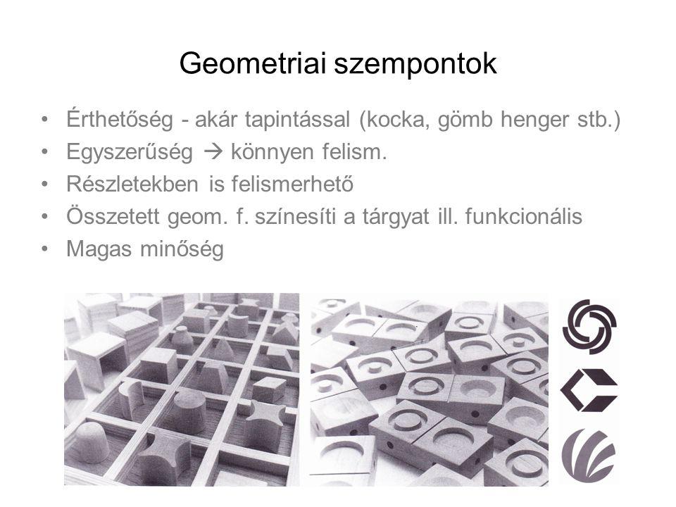 Geometriai szempontok