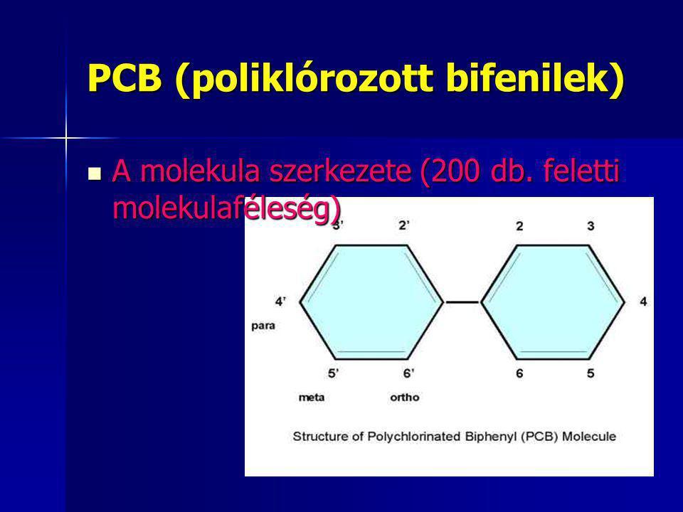 PCB (poliklórozott bifenilek)