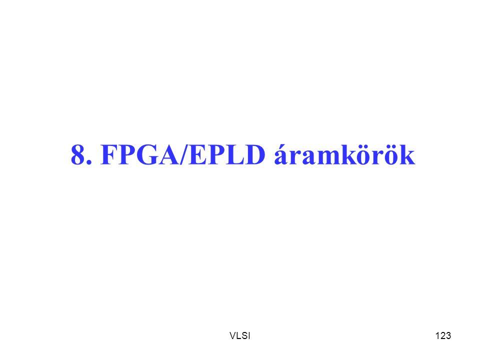 8. FPGA/EPLD áramkörök VLSI