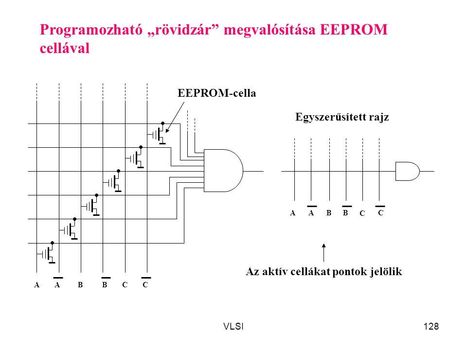 """Programozható """"rövidzár megvalósítása EEPROM cellával"""