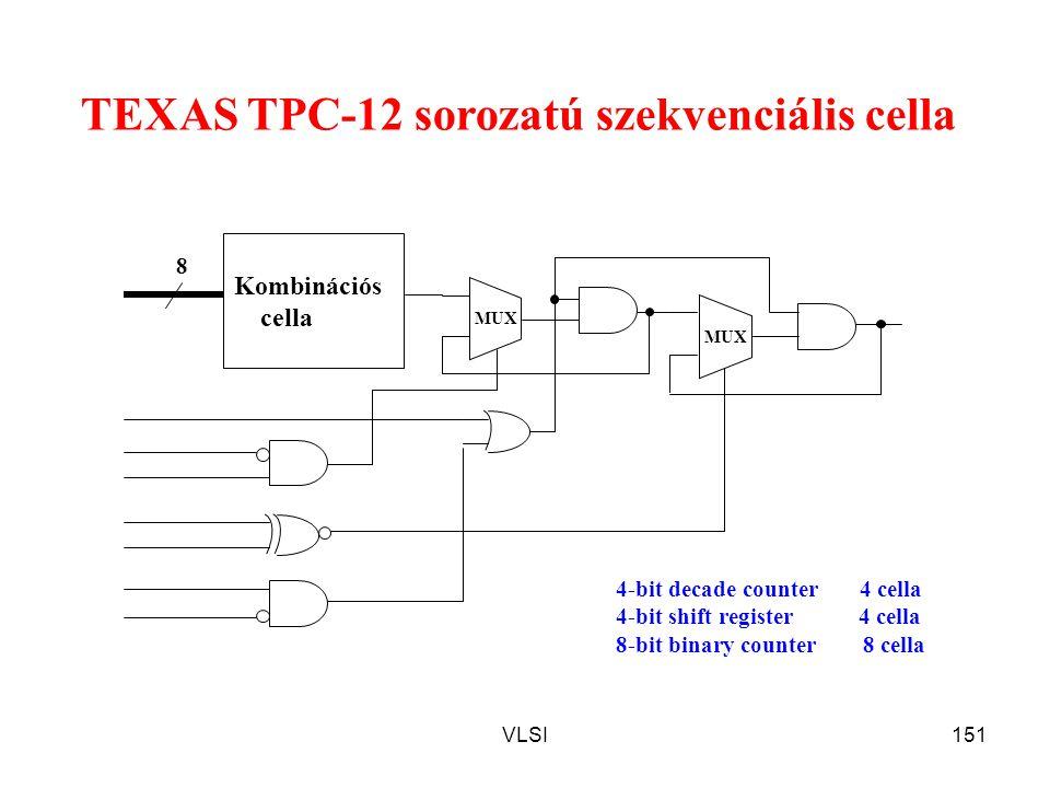TEXAS TPC-12 sorozatú szekvenciális cella
