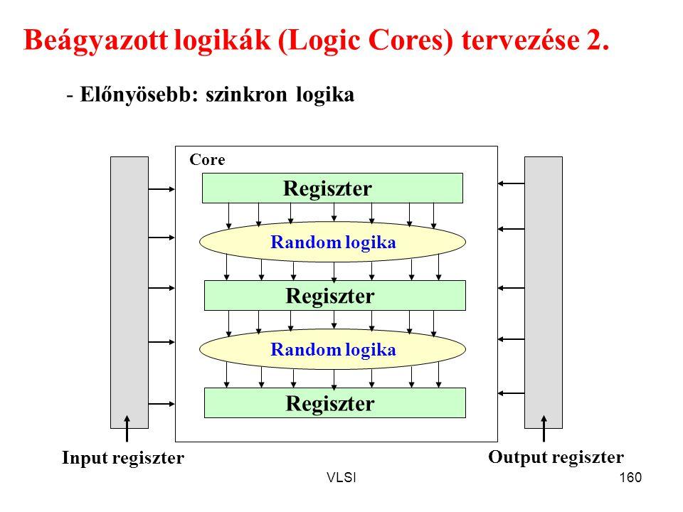 Beágyazott logikák (Logic Cores) tervezése 2.