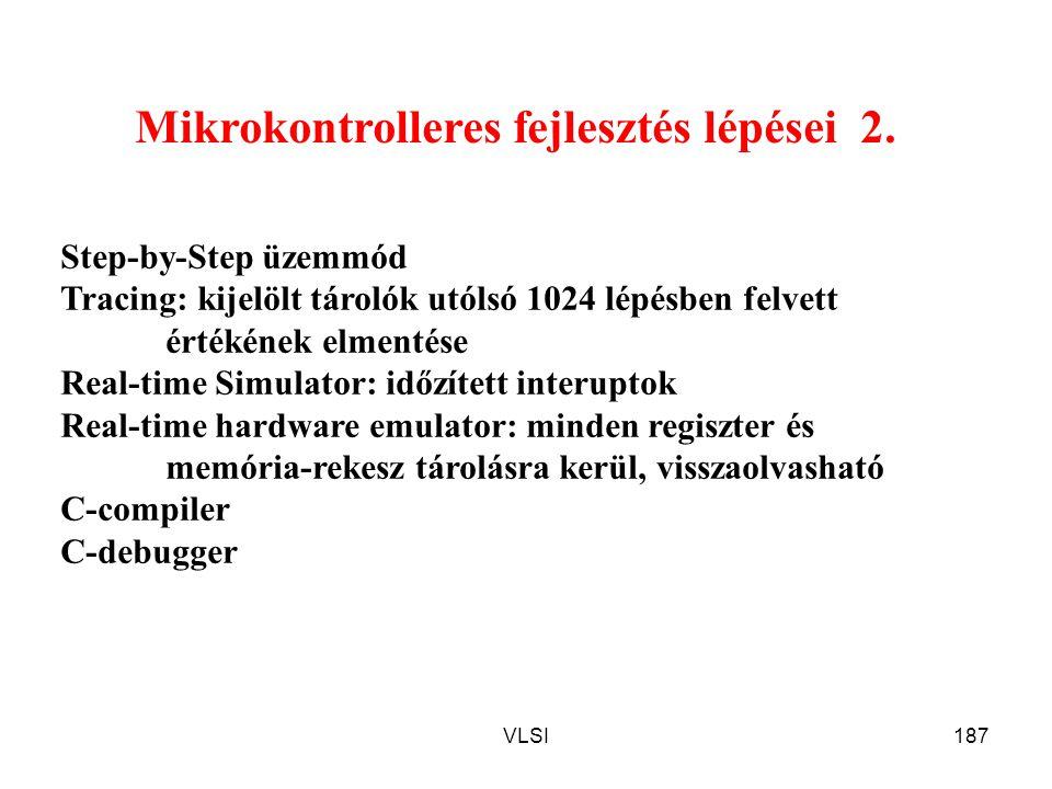 Mikrokontrolleres fejlesztés lépései 2.
