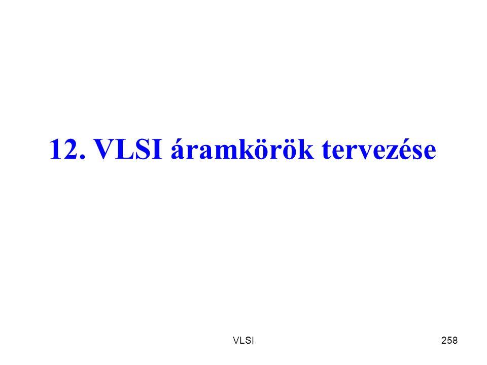 12. VLSI áramkörök tervezése