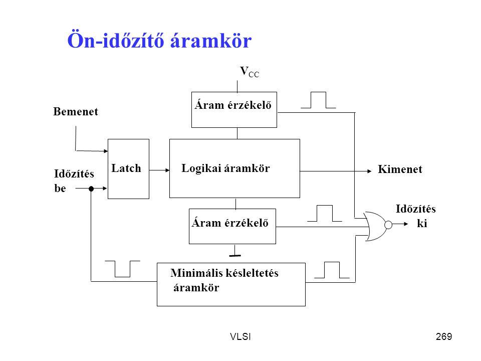 Ön-időzítő áramkör Időzítés ki be Áram érzékelő VCC Logikai áramkör