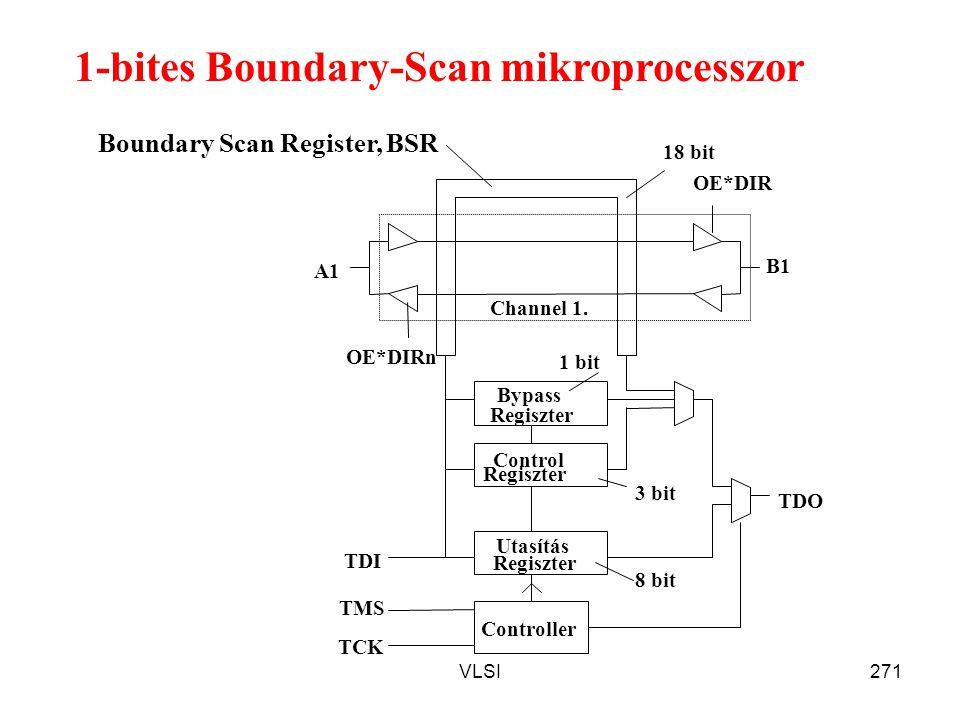 1-bites Boundary-Scan mikroprocesszor