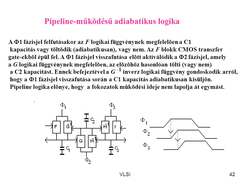 Pipeline-működésű adiabatikus logika
