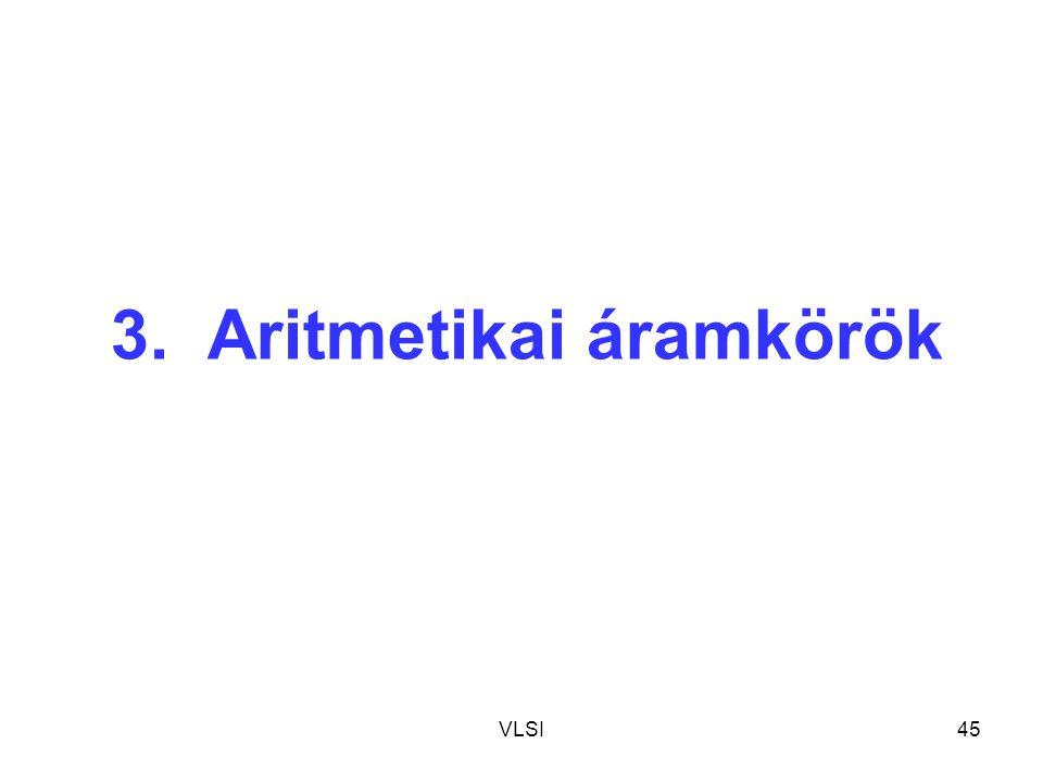 3. Aritmetikai áramkörök