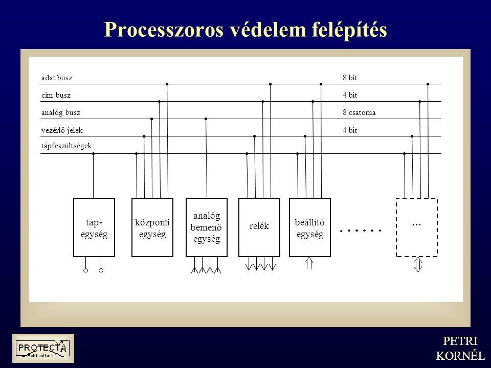 Processzoros védelem felépítés