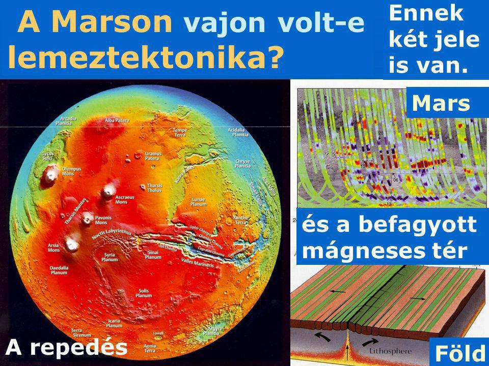 A Marson vajon volt-e lemeztektonika