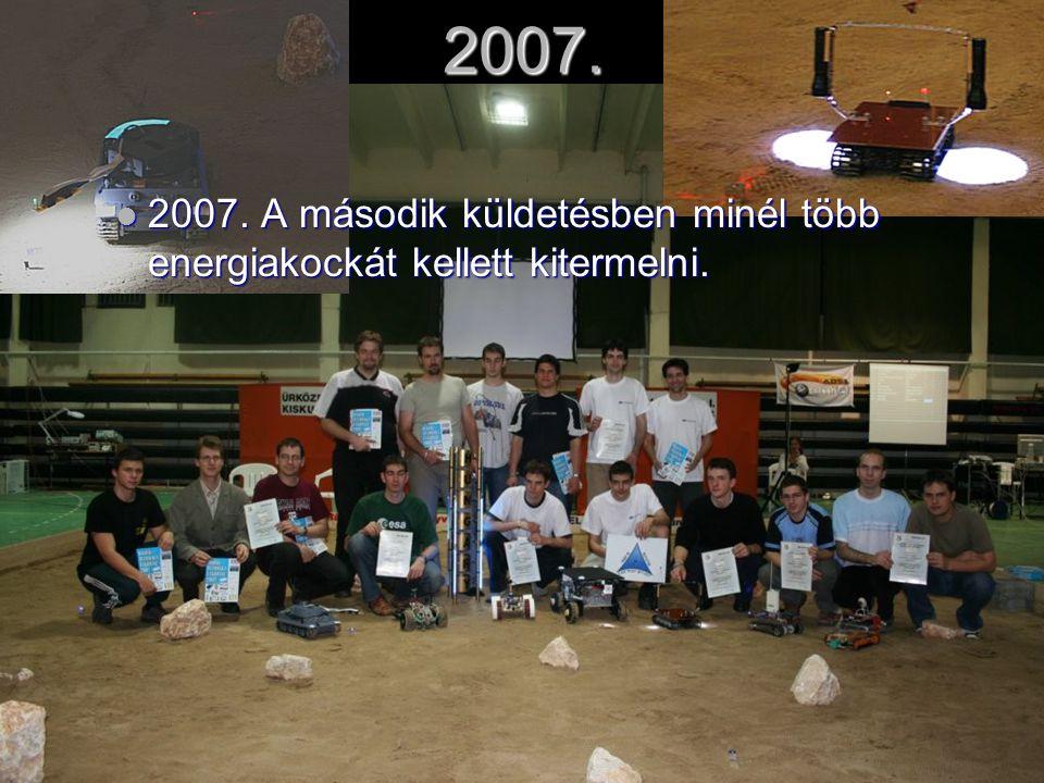 2007. 2007. A második küldetésben minél több energiakockát kellett kitermelni.