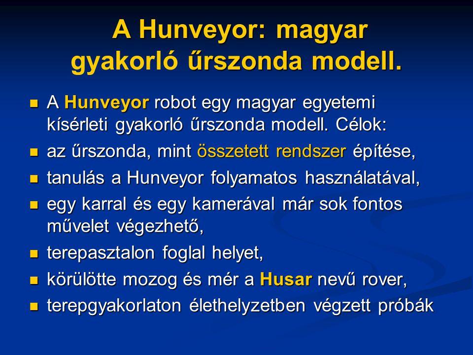 A Hunveyor: magyar gyakorló űrszonda modell.