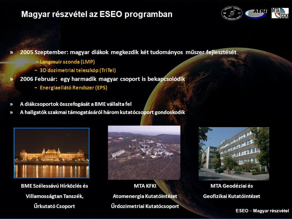 Magyar részvétel az ESEO programban