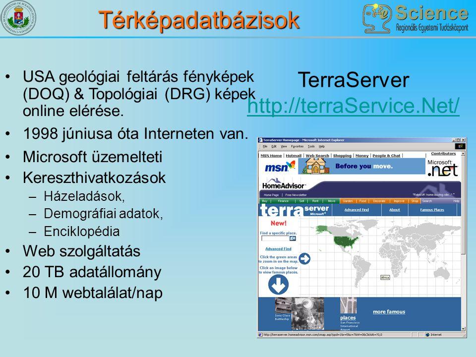 TerraServer http://terraService.Net/