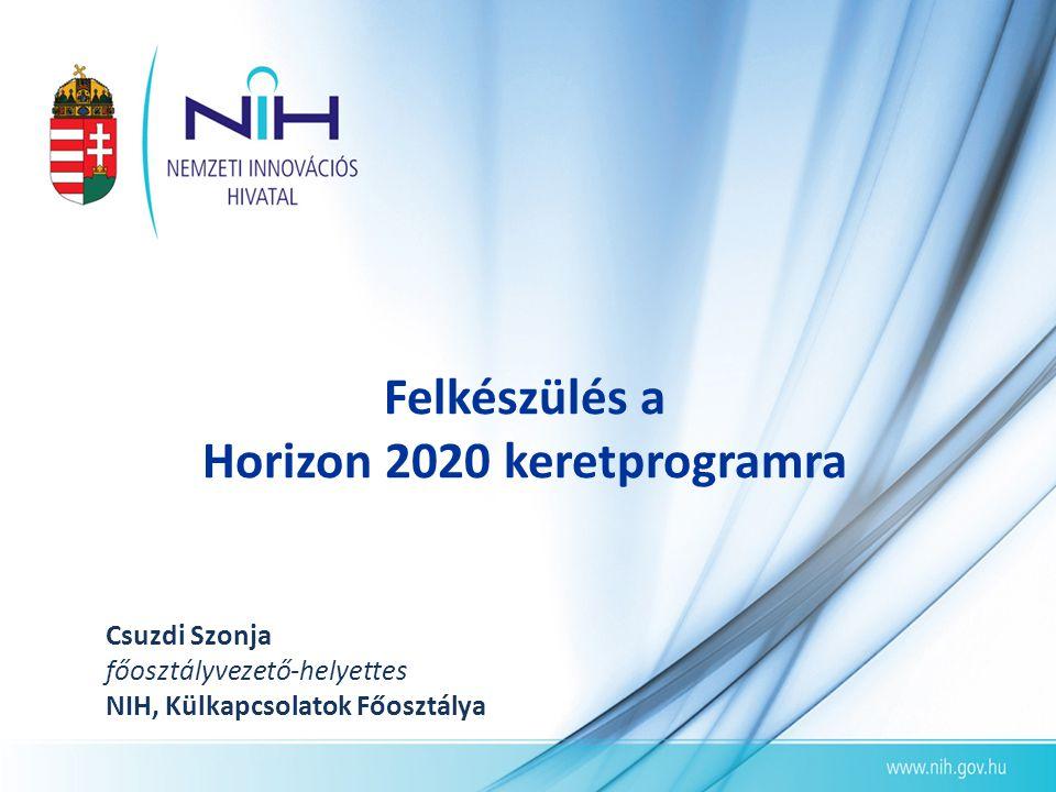 Felkészülés a Horizon 2020 keretprogramra