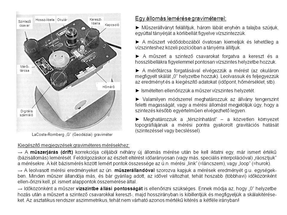 """LaCoste-Romberg """"G (Geodéziai) graviméter"""