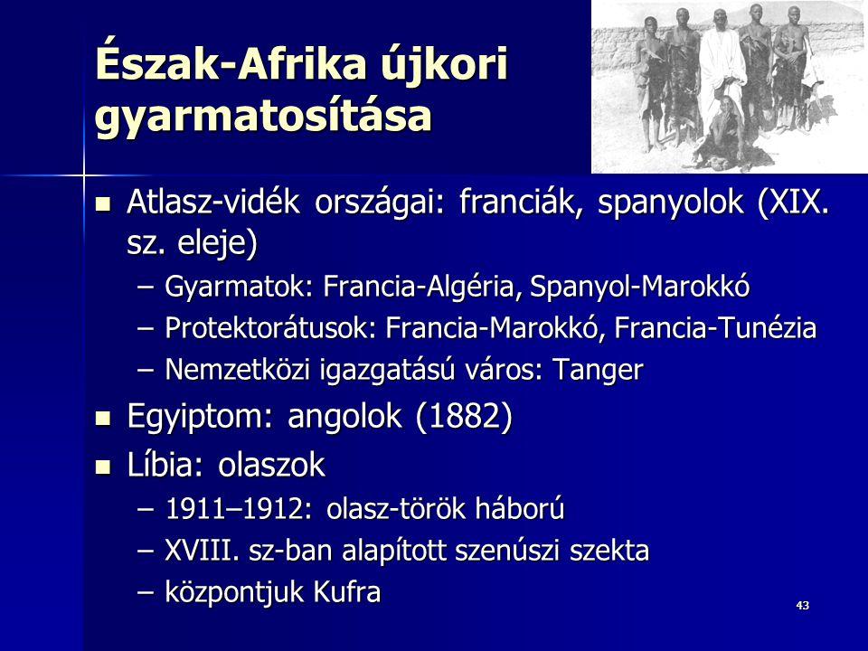 Észak-Afrika újkori gyarmatosítása
